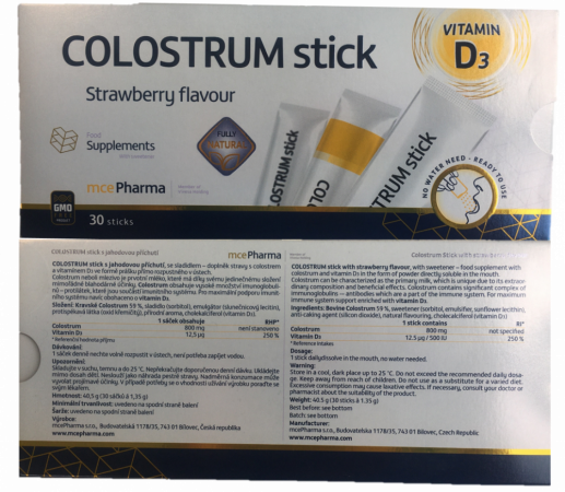 Colostrum stick